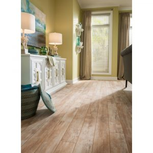 VintagePainted-IceHouse-LivingRm | Bay Country Floors
