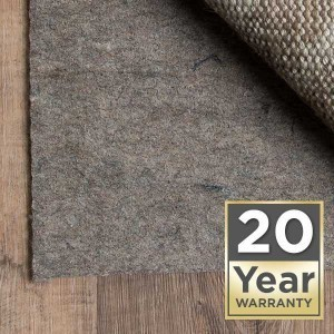 rug pad 20 year warranty