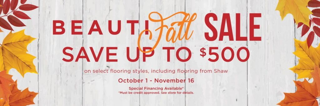 Beautifall sale banner | baycountryfloors