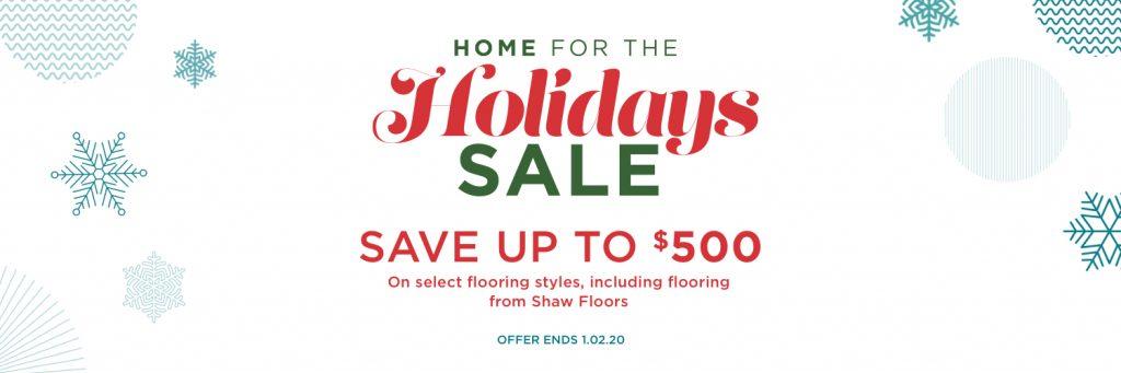 Home for the holidays sale | baycountryfloors