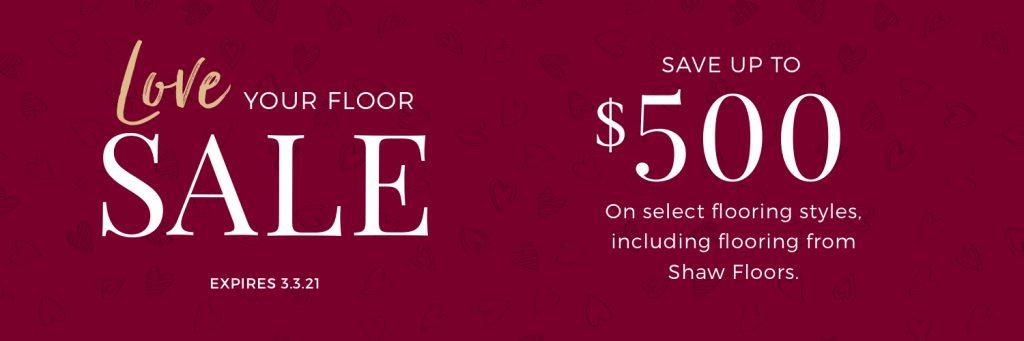 Love Your Floor Sale | Bay Country Floors