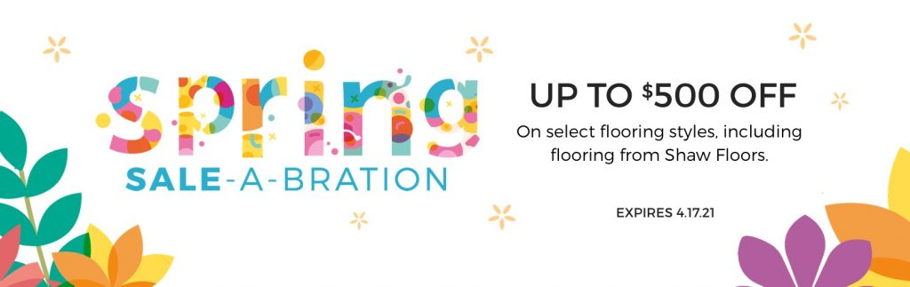Spring Sale-A-Bration | Bay Country Floors